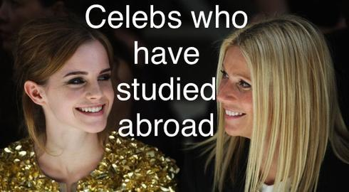 FACTS YOU NEVER KNEW ABOUT FAMOUS PEOPLE WHO HAVE STUDIED ABROAD