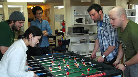 Language Schools New Zealand, Table Football